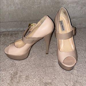 Steve Madden Open-Toe Mary Jane Heels Size 9